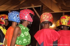 Ankara Helmets for Girls WhoRide