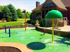 splash pad installed by my splash pad This will be perfect for our new backyard…