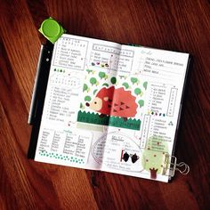 List:: the checklists are all done re: prepping for our camping trip next weekend. | Little Red Moose #Idea #Planner #travelersnotebook