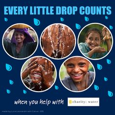 for my bday campaign on charity: water