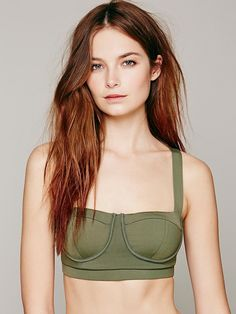 Free People Contrast Band Sports Bra, €43.66