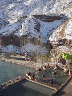 termas cacheuta en invierno - Ciudad de Mendoza, Argentina