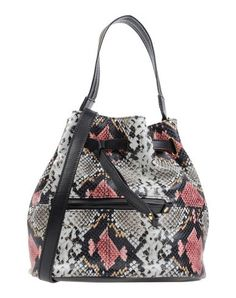 JUST CAVALLI Handbag. #justcavalli #bags #shoulder bags #hand bags #leather #bucket #