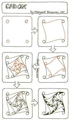 Art in a Box: Zentangles
