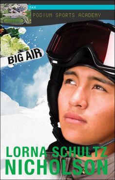 This had such good details about snowboarding, but also a very riveting story…