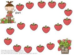 Strawberry Patch Articulation Pack - pre-vocalic /r/ articulation set. Included is one articulation sheet (prevocalic /r/) and board game. Speech Language Therapy, Speech Language Pathology, Speech And Language, Speech Therapy Activities, Language Activities, Early Childhood Activities, Oral Motor, Strawberry Patch, Phonological Awareness
