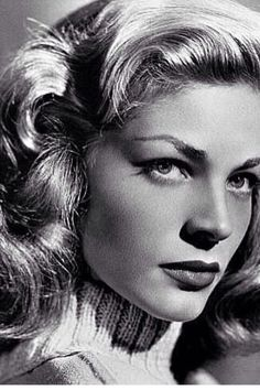 Lauren Bacall • a classic beauty