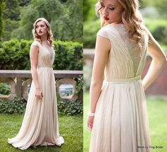 Custom Wedding GownSmoked PeachMade to order in von TingBridal, $1999.00