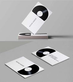 Develop and design a logo for DJ Richie Kassis. Develop, design and supply a business card.  #Design #Print #Stationary #Businesscard #Business #Card #Marsdesign