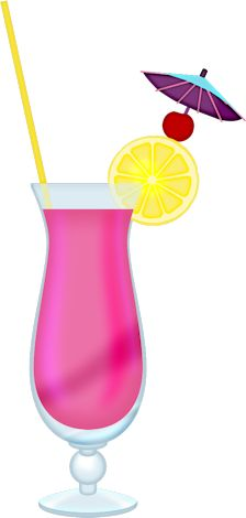 exotic cocktail png clipart picture clip art drinks pinterest rh pinterest com drink clipart black and white drink clip art pictures