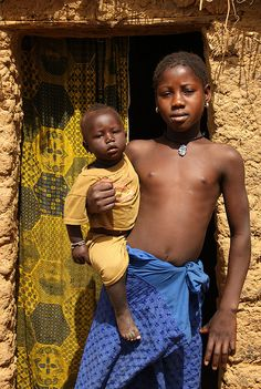 Siblings In Mali