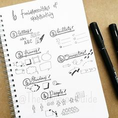 #StudyTips sketch noting is like visual notes to a new level