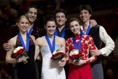 Canada's Team for Ice Dance in Sochi.  #Sochi2014 #WEAREWINTER