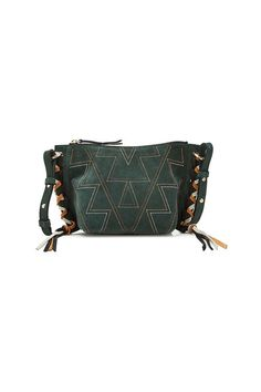 ISABEL MARANT - Fangoh Mini Suede Shoulder Bag | STYLEBOP