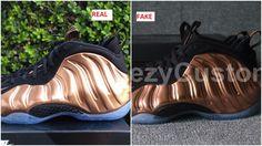 e3e8211a889 Quick Tips To Spot The Fake Air Foamposite One Copper