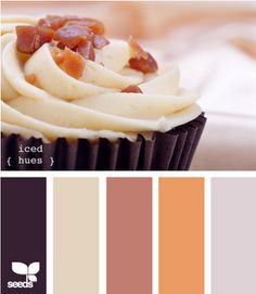 Neutral Fall Color Palette  #fall #color #neutral #brown #design #palette #home #homedecor
