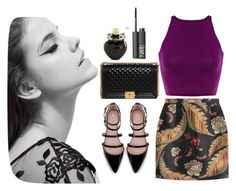 """""""Luxury!"""" by lilalilyy ❤ liked on Polyvore featuring Dsquared2, Zara, Chanel, Aéropostale and NARS Cosmetics"""