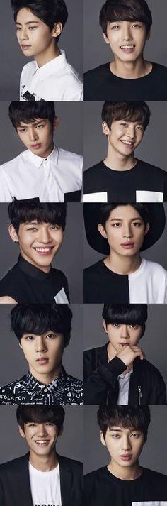 #UP10TION #Wei #Sunyoul #Gyujin #Xiao #Kuhn #Jinhoo #Wooshin #Bitto #Hwanhee & #Kogyeol