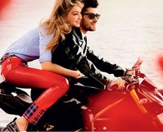 Gigi Zayn leather pants