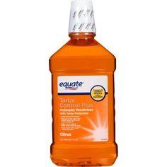 Equate Citrus Antiseptic Mouthrinse, 50.7 fl oz