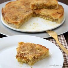 TARTA SUECA DE MANZANA (Swedish apple cake)