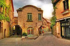 Красивые старинные дома, архитектура Франции: Самые красивые дома