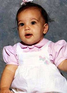 Kim's Baby Picture So Adorable