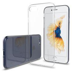 15. iPhone 7 Case, LUVVITT [Ultra Slim] Soft Slim Flexible TPU Back Cover