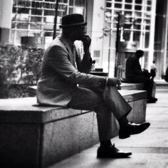 The Thinker, Chicago edition.