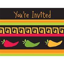 Fiesta Grande Invitations