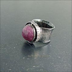Strukova Elena - авторские украшения - Перстень с корундом
