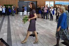 Crown Princess Mary of Denmark attended the 14th World Congress of the European Association for Palliative Care on May 8, 2015 at Bella Center in Copenhagen, Denmark. (
