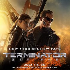 New mission, new fate. Get tickets to experience #Terminator Genisys in 3D on July 1st.