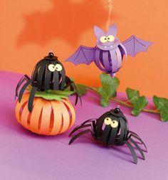 La boite id es de l 39 atelier 3B DIY Pap #Atelier #Balls #boîte #DIY #halloween_decoration_for_kids #halloween_decoration_homemade #halloween_decoration_party #halloween_decorations #idées #l39 #paper #scary_halloween_decorations