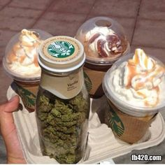 Sum I'd walk out Starbucks with ✨