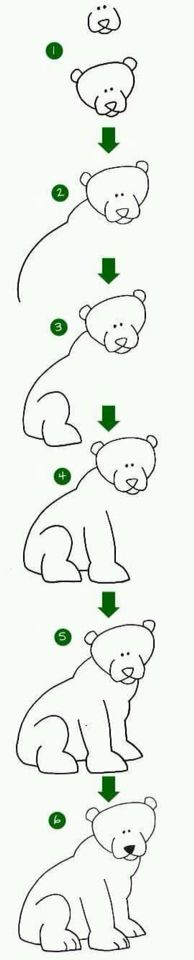 zoo animals easy drawing draw drawings animal step techniques