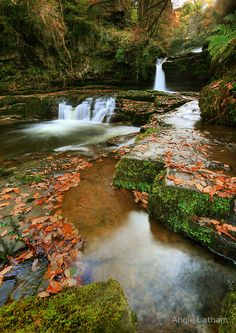 The magical falls of Sgwd Isaf Clun-Gwyn in the Brecon Beacons, South Wales Mystic Pools Pool Photography, Nature Photography, Beautiful World, Beautiful Places, Peaceful Places, Amazing Places, Places Around The World, Around The Worlds, Brecon Beacons