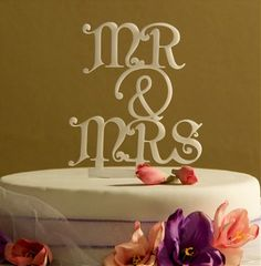 Wedding Cake Topper Mr and Mrs with ampersand design 1 – Mr. weddding cake topper – wedding cake topper - Home Page Mr And Mrs Wedding, Our Wedding, Dream Wedding, Wedding Stuff, Wedding Wishes, Spring Wedding, Wedding Ring, Wedding Flowers, Wedding Photos
