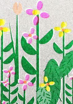 Botanics in a bottle Postcard