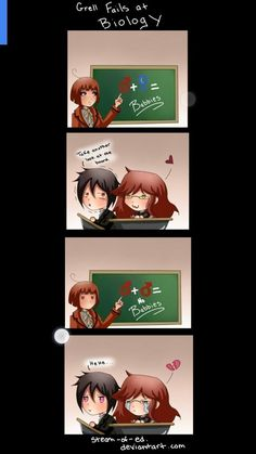 Sorry Grell ... But that's just not how life works ...~ Killer Dream~
