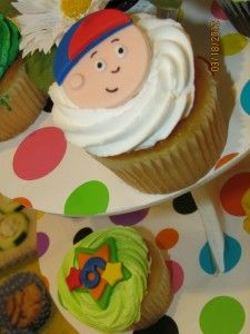 My son's Caillou themed 6th birthday party.  You can read more at my blog and see more pictures of a fun bday at http://www.special-and-determined.com/down-syndrome/jacobs-6th-birthday-party/