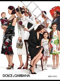 Dolce and Gabbana ad, Paris Vogue enfants Sept2015