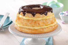 Easy Layered Boston Cream Pie recipe