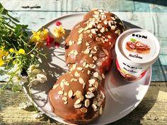 Πολίτικο τσουρέκι με μαχλέπι και ION Nucrema - ION Sweets Ethnic Recipes, Food, Essen, Meals, Yemek, Eten