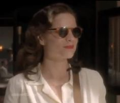 Agent Peggy Carter in some fabulous 1940s sunglasses!