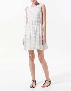 GUIPURE LACE DRESS - Dresses - Woman - ZARA United States