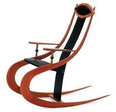 Roo Silhouette Rocking Chair marri jarrah furniture and fine art galleries Woodworking Ideas Table, Woodworking Projects For Kids, Woodworking Logo, Fine Furniture, Furniture Design, Wood Pencil Holder, Eclectic Chairs, Build A Farmhouse Table, Concrete Coffee Table