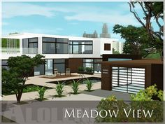 Meadow View house by Aloleng - Sims 3 Downloads CC Caboodle