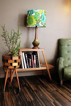 Retro Print Revival creates unique, exclusive, one of a kind lamps and lampshades.