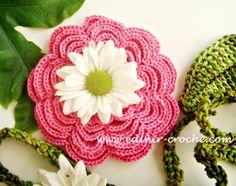 Edinir-Croche ensina flores em croche 037 camélia 2. INSCREVA-SE: http://www.youtube.com/edinircrochevideos COMPRE O SEU DVD AQUI: http://cursodecroche.com C...
